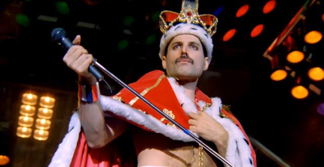 Freddie Mercuryuna Forza Della Natura Con La Velocità Di Un